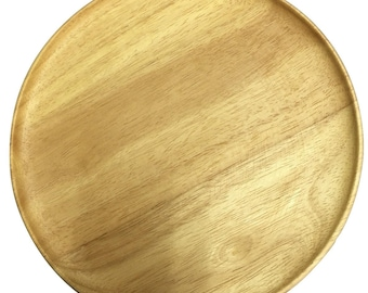 Wooden Plate, 10 inches (25 cm.), wooden plate, handmade wooden plate, wooden bowl, wooden dish,plate, SALE  8.0 usd., Normal price 10 USD