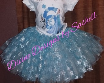 FROZEN TUTU SET