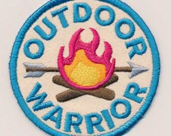 Adventure Merit Badges - Outdoor Warrior