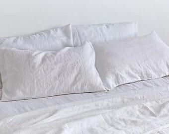 Linen sheet.Flat sheet /Stone washed ultra soft Lithuanian linen/made by AnBerlinen