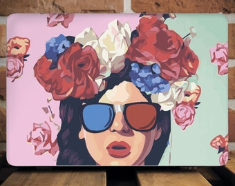 Pin-Up Girl MacBook Case For MacBook Air 11 Case MacBook Pro 15 Case MacBook 12 Inch Hard Case MacBook Pro Case 13 Inch Popart Cover WCm181