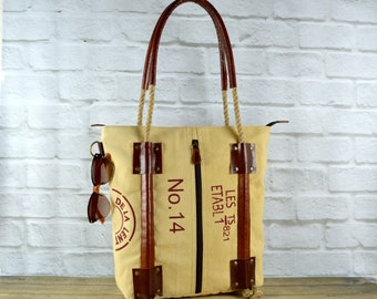Leather Tote ~ Leather Handbag ~ Laptop Tote ~ Canvas Tote ~ Organic Tote ~ Rustic Tote ~ Spacious tote ~ Travel Tote ~ Jute/ Burlap tote