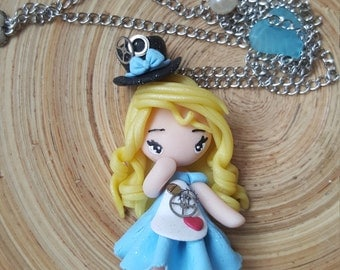 Alice - Doll necklace
