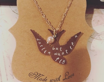 What If You Fly necklace