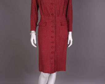 Dotted 40s dress, Gr. 40