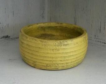 Bowl, yellow bowl, small bowl