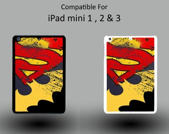 Batman Vs Superman DC Superhero Marvel Hard Plastic iPad Mini 1/2/3 Cover IPM032