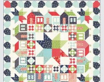 Summerville Quilt Pattern Fat Eighth Friendly by Camille Roskelley of Thimble Blossoms #192