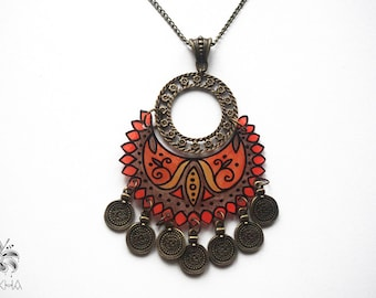 Necklace necklace handcrafted fluorescent collection Sakera