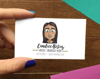 Custom Illustrated Business Cards. Custom Portrait Business Cards. Custom Portrait Stationery. Cool Business -Digital File Only-