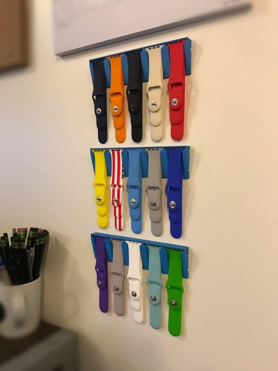 Plastic Wedding Bands >> Apple Watch Band Display Holder 3D print plastic or wood