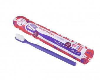 Rechargeable toothbrush - purple