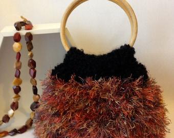 Autumn Knitted Handbag
