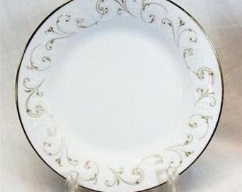 "NORITAKE DUETTO 8 1/4"" Salad Plate"