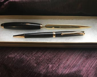 Pen and Letter Opener Set  -Perfect for a gift!