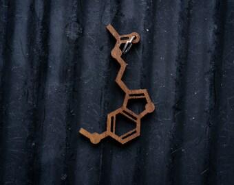Melatonin Molecule Necklace pendant