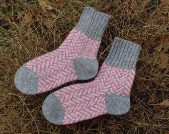 Merino wool socks merino socks 10 anniversary gift bridesmaid gift pajamas women socks bridesmaid pajamas socks hand knit socks nightgown