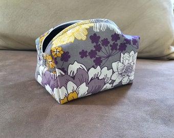 Purple Floral Bag