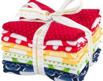 Spot On by Studio RK, Primary Colorstory Fat Quarter Bundle for Robert Kaufman Fabrics Pre-order with FREE SHIPPING