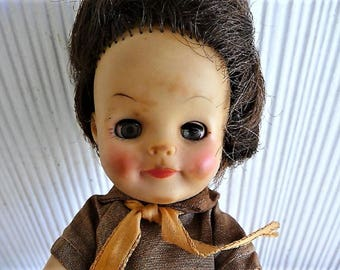 Effanbee Girl Scout Brownie Doll Seeks Adoption  -- 1965 , Collectible