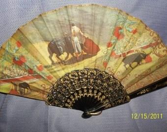 hand fan- matador