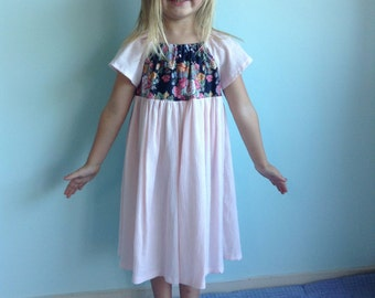 SALE! Little Peach dress Size 5-6