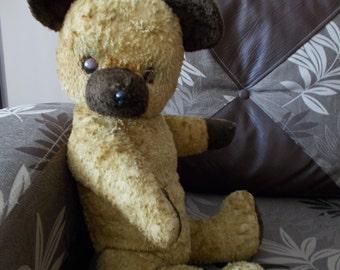 Antique, Vintage Arthur van Gelden Dutch Teddy Bear, 1940s, Growler, RARE!!!!!