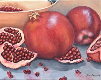 Pomegranites card/print