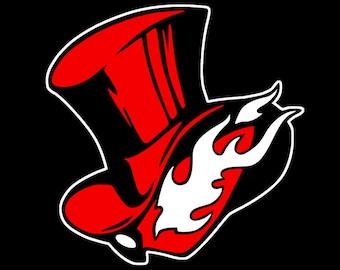 Persona 5 Arsene Phantom Thieves Logo Vinyl Decal for Car/Laptop