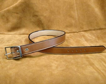 """36"""" Hand Made Leather Belt"""