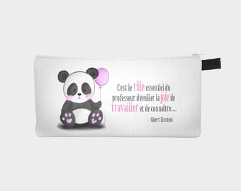 "Chest pencil / makeup case 'Petit Panda' (version gift for teacher) (Pencil box - ""Little Panda"")"