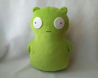Cute alien plush toy