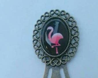 "small bookmark ""Flemish rose"""