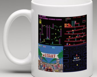 Retro Gamer Novelty Mug