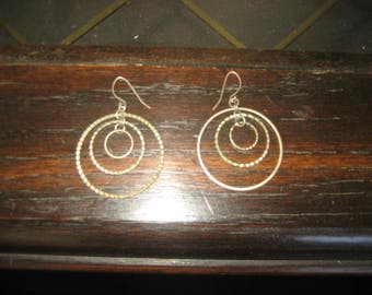 Spinning Hoops Earrings
