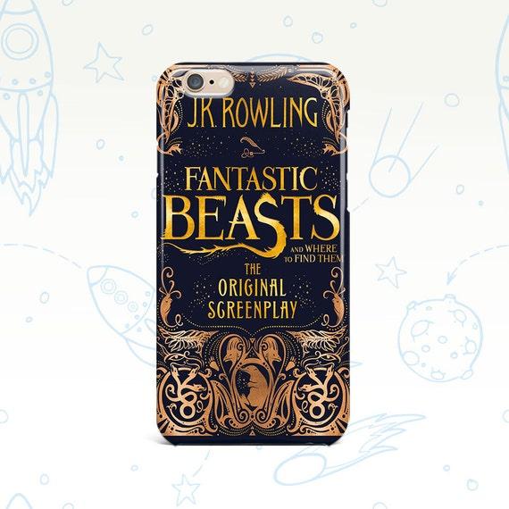 Harry Potter iPhone iPhone caso 7 caso de bestias fantásticas iPhone iPhone caso 6S 5C caso Samsung Galaxy S7 caso Galaxy S6 teléfono caso 0121