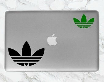 Adidas Trefoil Logo Laptop Sticker | Adidas Sticker | Trefoil Computer Sticker | Computer, Laptop, Mac Stickers/Decals
