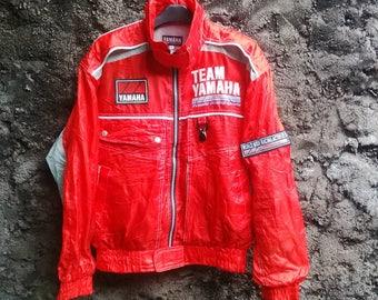 Vintage YAMAHA Sports Racing Team Jacket.. Mens Medium