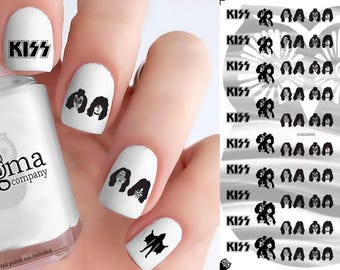 KISS Nail Decals (Set of 56)