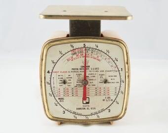Vintage Pelouze Postal Scale 1972 - ZC-5