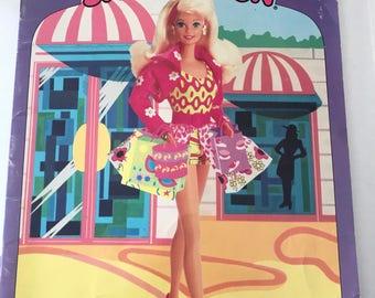 Barbie Sticker Fun unused Book