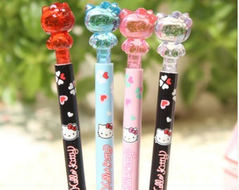 Hello Kitty Pencils / Cute School Supplies / Office Supplies / Hello Kitty / Japanese Stationery / Kawaii Stationery / Cute Lead Pencils