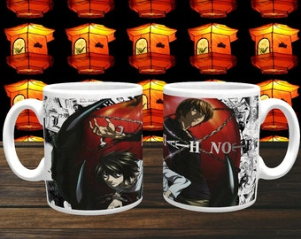 Anime Mug 'Death Note' Coffee Mug, Coffee Cup, Ceramic Mug