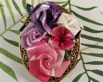 vintage flower brooch, flower brooch, vintage brooch, vintage inspired, flower jewellery, brooch vintage, one-of-a-kind jewelry, brooch