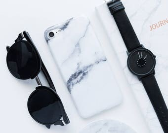White Grey Marble iPhone Case iPhone 8 Case iPhone 8 Plus Case iPhone 7 Case iPhone 7 Plus Case iPhone 6s Case iPhone 6s Plus Case Marble