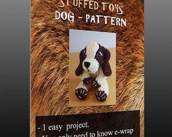 Loom Knit Dog - pattern