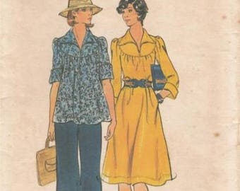 Butterick Size 12 Misses Dress, Top and Pants Pattern 4126