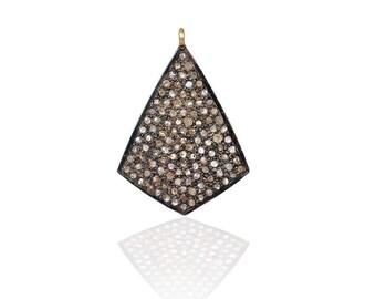 SDC-1385  Pave Diamond Charm