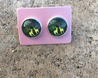 Summer night deer studs