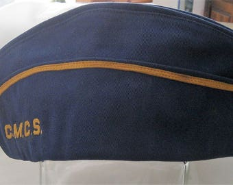 Civilian Airmen Garrison Cap CMCS Central Missouri Composite Squadron of the USAF Auxiliary Civil Air Patrol Blue Garrison Cap